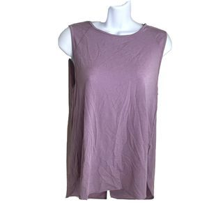 Lucy Athletic Purple Tank Top Size Small